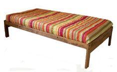 Santa Cruz Twin XL (extra Long) Bed   Toasted Pecan DMD Hardwood Collection  Http