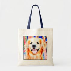 Golden Retriever Gifts, Golden Retrievers, I Love Dogs, Cute Dogs, Labrador Retriever, Watercolor Portraits, Dog Bowtie, White Elephant Gifts, Animal Photography
