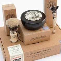 Captain Fawcett's Shaving Box Gift Set