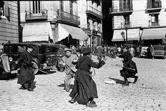 Disturbios en la plaza de Sant Jaume, Barcelona, 17 de febrero de 1936
