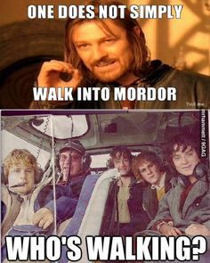 Lord of the Rings / The Hobbit - Oh Sean Bean. Gandalf, Legolas, Thranduil, Sean Bean, O Hobbit, Hobbit Art, One Does Not Simply, Funny Memes, Hilarious