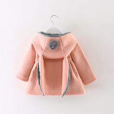 e6baf322ed3c Baby Infant Girls Winter Warm Coat Jacket Thick Warm Clothes