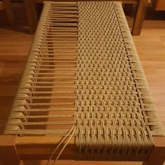 HOME-DZINE - Weave with Danish cord - Mark Edmundson featured this beautiful weave bench on Fine Woodworking and we have included his step-by-step tutorial videos below. We've also included a Pinterest link to hundreds of furniture weaving projects that may spark your creativity.