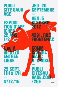 pubsauvage1 poster by Emanuel Cohen / 59ème Edition du Type Directors Club