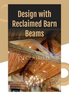 Incorporate reclaimed barn wood into your home. #barnwood #timbers #timberframe #loghome