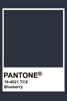 Pantone Blueberry Paleta Pantone, Pantone Tcx, Pantone Swatches, Pantone 2020, Color Swatches, Pantone Colour Palettes, Pantone Color, Pantone Navy, Colour Pallete