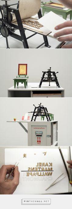 A Tiny Printing Press That Creates Charming Miniature Prints And Books…