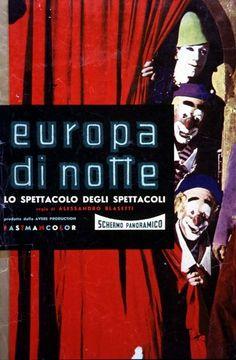 "Alessandro Blasetti's ""Europa di notte"" (English title: ""European nights"", 1959)."