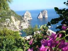 Capri Island, Italy  One of my favorite places