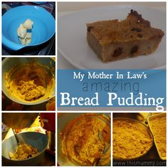 Easy Bread Pudding Recipe - This Mummy... @thismummy