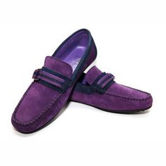 Ribbon Moccasin Men's Prpl Navy now featured on Fab.
