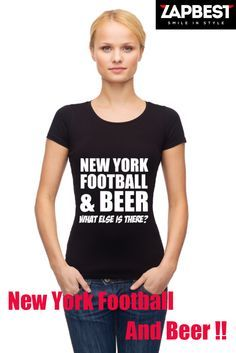 Quality Hoodies and tees... http://zapbest.com/products/new-york-football-beer  Made just for you! Printed in USA Fast Shipping! In Stock. Can Ship