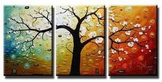 3 Piece Canvas Art, 3 Piece Canvas Painting, Buy Abstract Art, Oil Painting for Sale – Paintingforhome