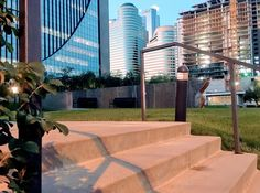 Cancer Survivors Park at Marquette Plaza in Downtown West, Minneapolis. Photo by Localmn. #localmn #cancersurvivorspark #downtownwest #marquetteplaza