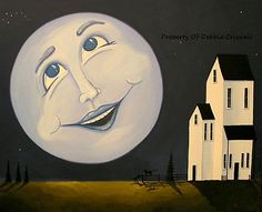 """""""Laughing With The Moon Man"""""""