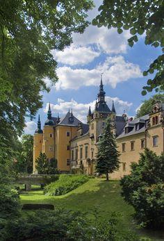 Kliczkow Castle in Lower Silesia, Poland.