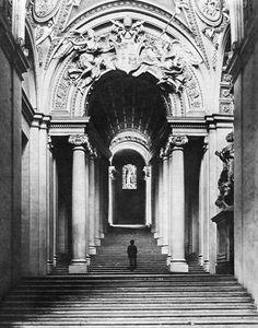 Antonio da Sangallo the Younger > Bernini - Scala Regia.