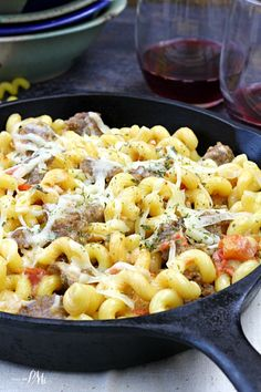Recipe for Italian Sausage in Tomato Cream Sauce Pasta from is quick, easy and satisfying. Italian Sausage in Tomato Cream Sauce Pasta is a hearty pasta that takes less than 30 minutes to make!