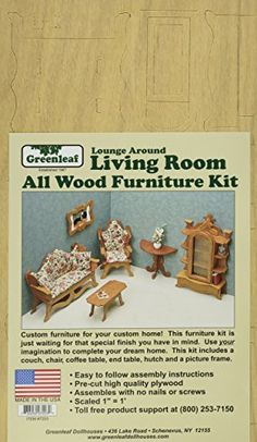 Dollhouse Décor - Dollhouse Furniture KitLiving Room ** You can find out more details at the link of the image.