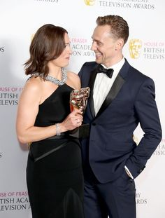 Pin for Later: These Celebs Love Tom Hiddleston as Much as You Do! Suranne Jones