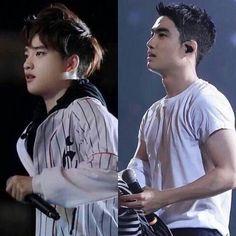 I aint crying you are. He's all big now and i love and hate it sm. Kyungsoooooooo I miss ur fluffy cheeeeeks but I also love his SHARPASS facial structure WHATTAMAN Chanyeol, Kyungsoo, Exo Minseok, Kaisoo, Tao, Exo Lockscreen, Exo Korean, Do Kyung Soo, Kpop Exo