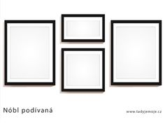frame_idea_nobl podivana Stencil, Gallery Wall, Frame, Home Decor, Picture Frame, Decoration Home, Room Decor, Stenciled Table, Frames