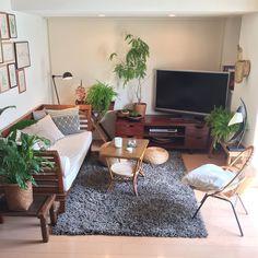 Lounge/観葉植物/ソファ/クッション/間接照明/一人暮らし...などのインテリア実例 - 2017-05-27 23:44:38 | RoomClip (ルームクリップ)
