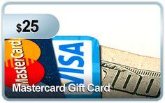 $25 Mastercard Gift Card #pennyauction