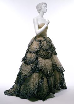 "Junon dress Christian Dior (French, 1905–1957) | ""May"" 