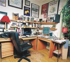 Writer's room: Sue Towsend Photo: Eamonn McCabe