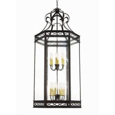 2nd Ave Design Estancia 12 Light Foyer Pendant Finish: Rustic Iron, Acrylic: Real Mica