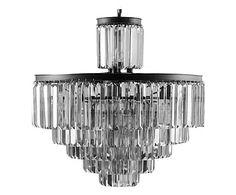 Hanglamp Dandy, zilver, Ø 82 cm