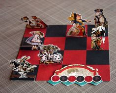 Alice in Wonderland Game Set