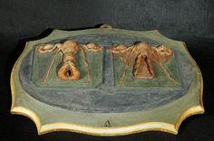 """""""Preparato in cera raffigurante vagina e utero non gravido e vagina e utero gravido"""", Giovanni Manzolini, 1746-50"""