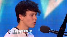 Britain's Got Talent 2015 S09E03 Isaac Waddington Sings Heartfelt Rendit...