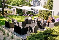 Nowy ogród dla Twojego przyjęcia :) Lavender, Patio, Outdoor Decor, Home Decor, Terrace, Interior Design, Home Interior Design, Home Decoration, Decoration Home
