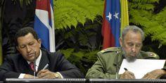 14 de diciembre de 2004: Fidel y Chávez fundan el ALBA #55AñosDeRevolución (foto: EFE)