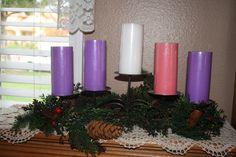 Beautiful Advent wreath