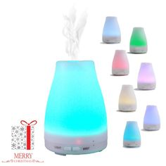 Essential Oil Diffuser, Simply Loft 120ml Ultrasonic Cool Mist Humidifier Aromatherapy with Multi Color LED Lights Changing Automatically for Home Office Bedroom Room,best Gifts for her women * Tried it! Love it! Click the image. : aromatherapy diffuser