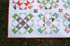 Stacked Windmills Quilt by Jeni Baker, via Flickr