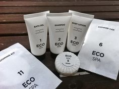 ECO SPA luxury cosmetics & amenities packaging design for quality hotels worldwide.