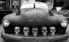 Skull grill- bad ass Rockabilly ride!   Haute Hearse & Rydes   Pinter…   www.pinterest.com-720 × 441-Search by image Skull grill- bad ass Rockabilly ride! Via Wendy Pope