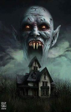 Horror Movie Art : Salem's Lot by Peter Stan 1975