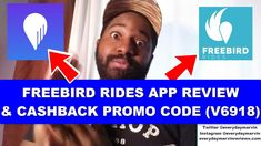 Freebird Rides App Review | FREEBIRD Rides APP PROMO CODE Reviews Scratch Off Cards, Task To Do, Uber Ride, Instant Cash, Lucky Day, Extra Cash, To Focus, How To Make Money