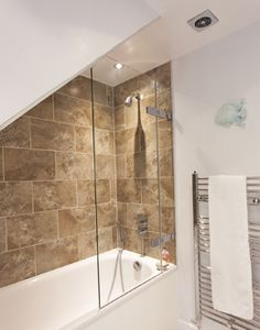 Our bespoke frameless shower enclosures, doors and bath screens are tailor made to fit your space, no matter how unusual or intricate. Shower Screens, Bath Screens, Frameless Shower Enclosures, Downstairs Bathroom, Bespoke, Bathrooms, Bathtub, Doors, Taylormade