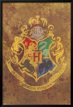 Harry Potter - Hogwarts Crest Posters at AllPosters.com