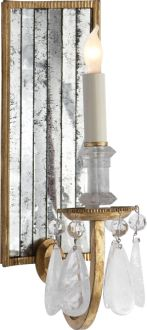 ELIZABETH MIRROR BACK WALL SCONCE $966 Circa
