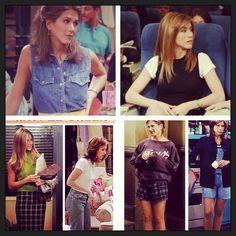 I want Rachel Green's wardrobe so bad!!!