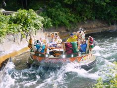 Kali River Rapids, The Animal Kingdom, Walt Disney World. This ride is what broke my insulin pump on the FIRST day of our honeymoon. I had a crack in the body of the pump and water got inside...I will be carrying zip lock bags this time. LOL