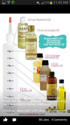 """Great natural hair care tips. The composer of the products also has some great """"how to"""" You Tube videos"""